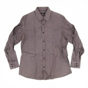 Hugo Boss Button Front Shirt Long Sleeve Workwear